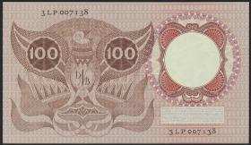 Niederlande / Netherlands P.088 100 Gulden 1953 (2/1)