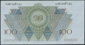 Niederlande / Netherlands P.082 100 Gulden 1947 (1)