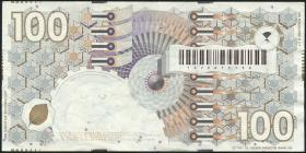 Niederlande / Netherlands P.101 100 Gulden 1992 (3+)