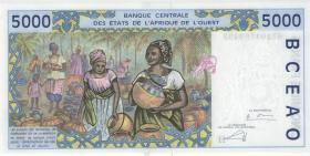 West-Afr.Staaten/West African States P.613Hl 5000 Francs 2003 Niger (1)