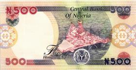 Nigeria P.30g 500 Naira 2007 (1)
