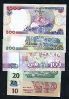 Nigeria 10 - 500 Naira 2021 (1)