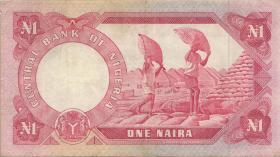 Nigeria P.15b 1 Naira (o.J.) (3)