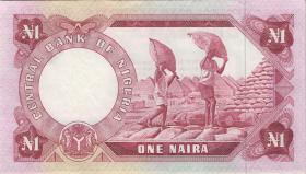 Nigeria P.15d 1 Naira (1973-78) (1)