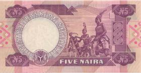 Nigeria P.24c 5 Naira (o.J.) (1)