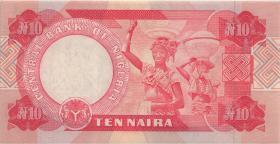 Nigeria P.25f 10 Naira 2001 (1)