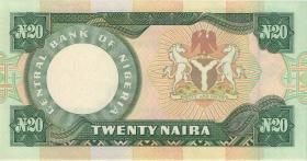 Nigeria P.026e 20 Naira (o.J.) (1)