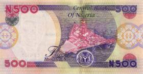 Nigeria P.30a 500 Naira 2002 (1)