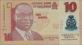 Nigeria P.Neu 5 - 50 Naira 2017 Polymer (1) Satz
