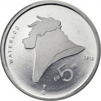 Niederlande 5 Euro 2015 Waterloo
