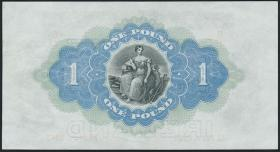 Nordirland / Northern Ireland P.055b 1 Pound 1943 (2/1)