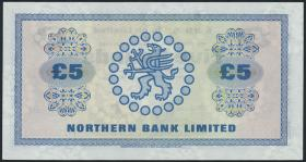 Nordirland / Northern Ireland P.188b 5 Pounds 1976 (1)