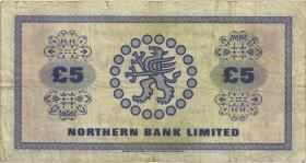 Nordirland / Northern Ireland P.188b 5 Pounds 1976 (4)