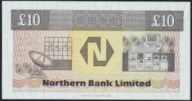 Nordirland / Northern Ireland P.194a 10 Pounds 1988 (1)