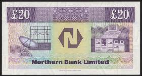 Nordirland / Northern Ireland, Northern Bank P.195c 20 Pounds 1995 (1)