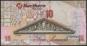 Nordirland / Northern Ireland, Northern Bank P.205 10 Pounds 2004 (1)