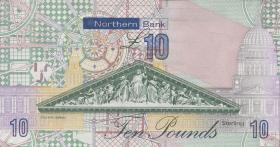 Nordirland / Northern Ireland P.210a 10 Pounds 2008 Northern Bank (1)