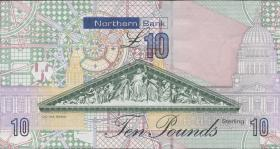 Nordirland / Northern Ireland P.210b 10 Pounds 2011 Northern Bank (1)