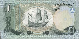 Nordirland / Northern Ireland P.247a 1 Pound 1977 (2/1)
