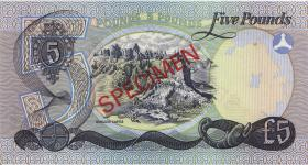 Nordirland / Northern Ireland P.248s 5 Pounds 1977 Specimen (1) * Serie