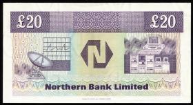 Nordirland / Northern Ireland P.195b 20 Pound 1989 (1)