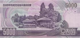 Nordkorea / North Korea P.56A 5000 Won (2007) (1)