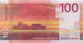 Norwegen / Norway P.54 100 Kronen 2016 (1)