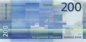 Norwegen / Norway P.neu 200 Kronen 2016 (1)