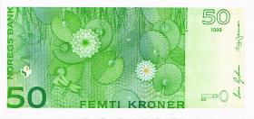 Norwegen / Norway P.46b 50 Kronen 1999 (1)