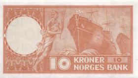 Norwegen / Norway P.31d 10 Kronen 1969 (1)