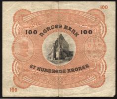 Norwegen / Norway P.10c 100 Kronen 1942 (3)