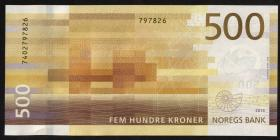 Norwegen / Norway P.56 500 Kronen 2018 (1)