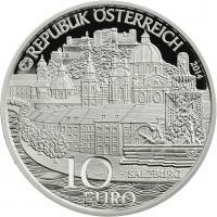 Österreich 10 Euro 2014 Salzburg Silber PP