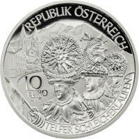 Österreich 10 Euro 2014 Tirol Silber PP