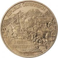 Österreich 10 Euro 2016 Oberösterreich