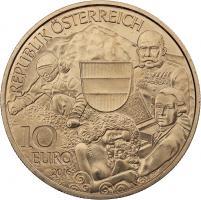 Österreich 10 Euro 2016 Österreich aus Kinderhand