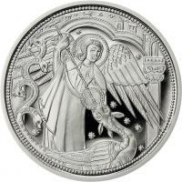 Österreich 10 Euro 2017 Michael - Der Schutzengel Silber PP