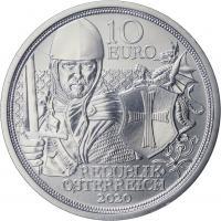 Österreich 10 Euro 2020 Tapferkeit Silber