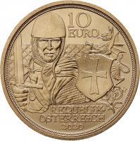 Österreich 10 Euro 2020 Tapferkeit prfr
