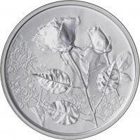 Österreich 10 Euro 2021 Die Rose Silber