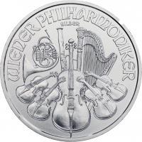 Österreich 1,5 Euro 2021 Philharmoniker (Unze)