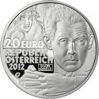Österreich 20 Euro 2012 Egon Schiele