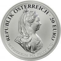 Österreich 20 Euro 2018 Maria Theresia - Milde und Gottvertrauen PP