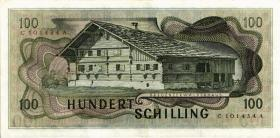 Österreich / Austria P.145 100 Schilling 1969 (1970) (3)