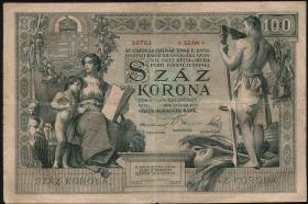 Österreich / Austria P.007 100 Kronen 1902 (3)
