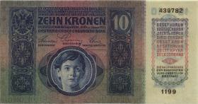 Österreich / Austria P.019 10 Kronen 1915 (1)