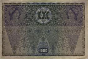 Österreich / Austria P.066 10000 Kronen 1918 II. Auflage (2)