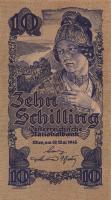 Österreich / Austria P.114 10 Schilling 1945 (1) 5-stellig