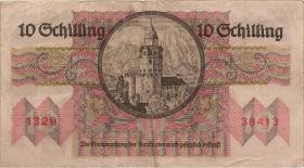 Österreich / Austria P.122 10 Schilling 1946 (3)