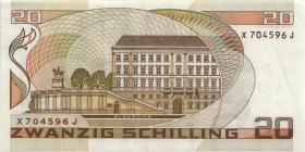 Österreich / Austria P.148 20 Schilling 1986 (88) (3)